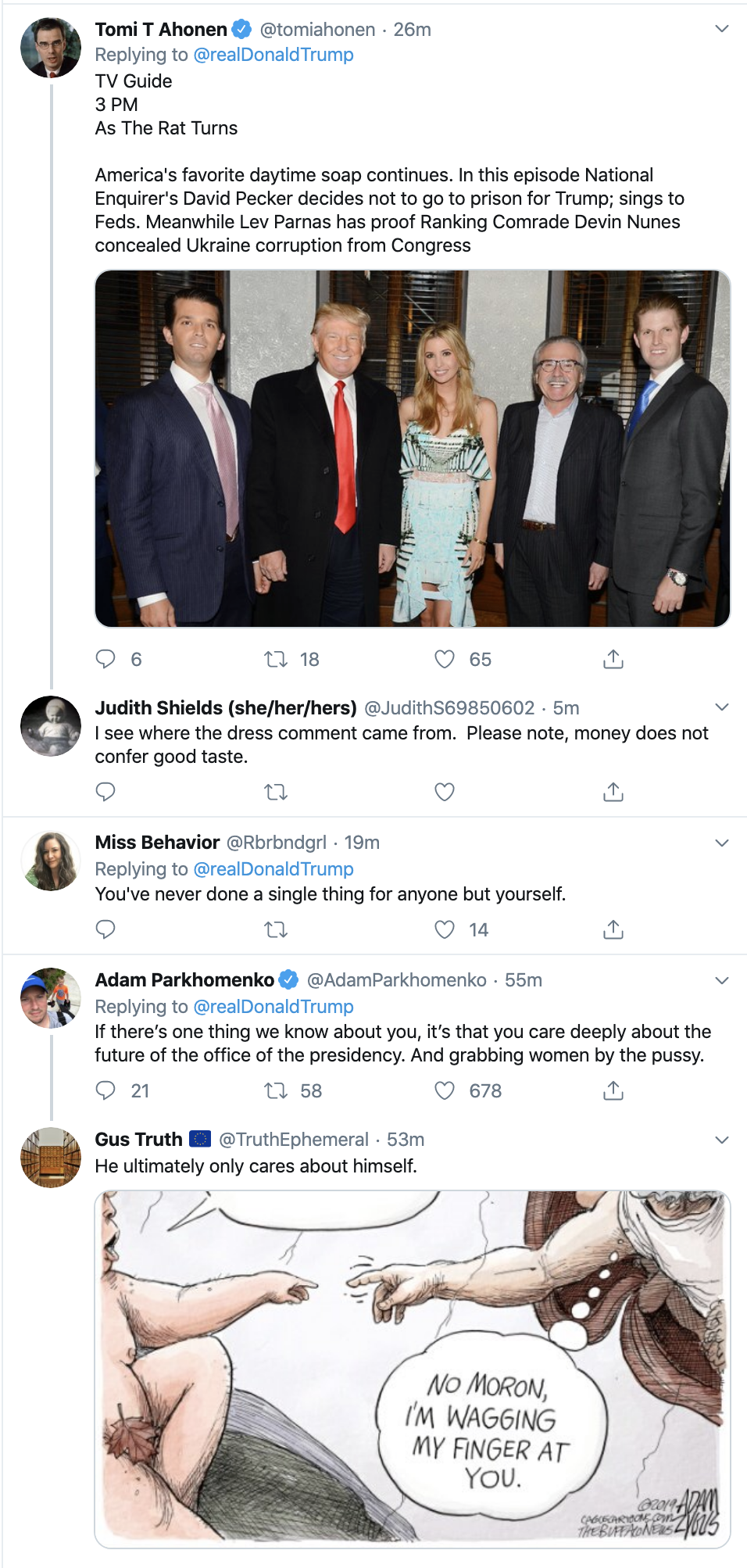 Screen-Shot-2019-11-26-at-10.43.07-AM Trump Takes To Twitter For Hilarious Mid-Morning Panic Featured Impeachment Investigation National Security Top Stories