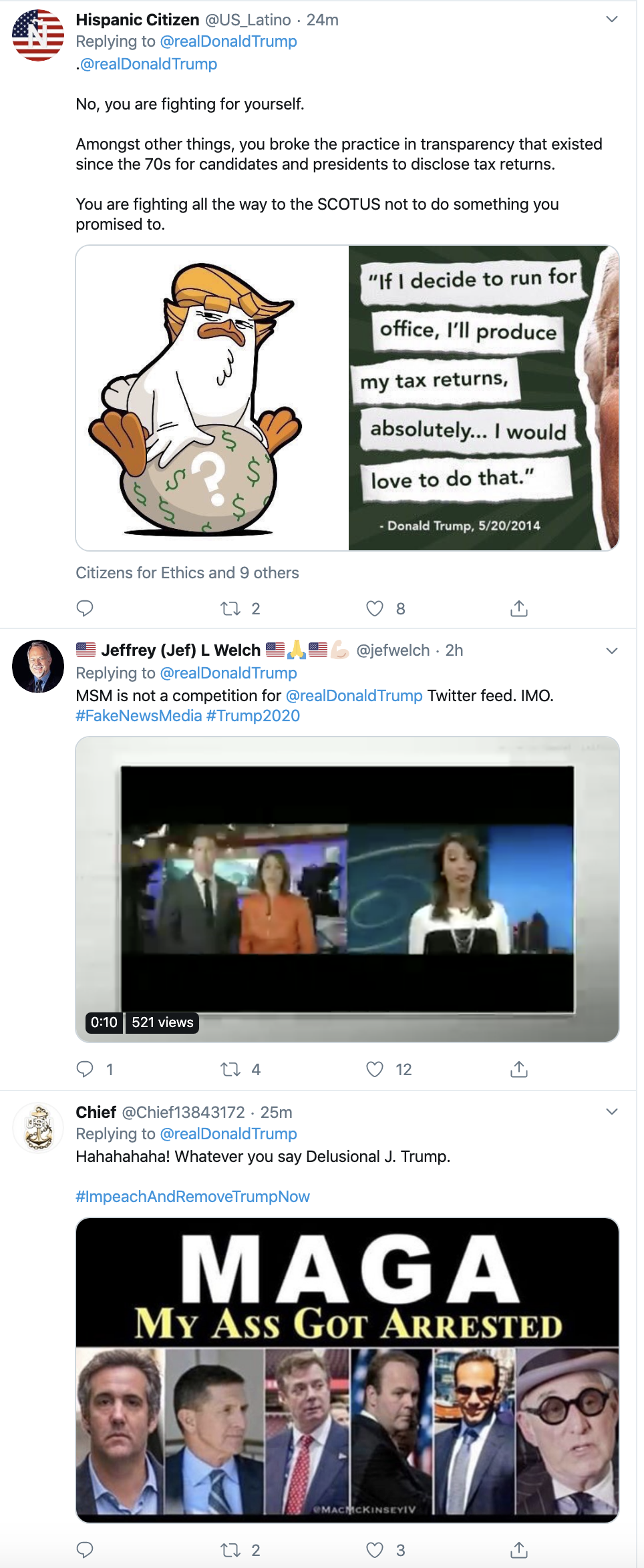 Screen-Shot-2019-11-26-at-12.08.56-PM Trump Humorously Tries To Make Himself A Martyr On Twitter Crime Featured History Impeachment Top Stories