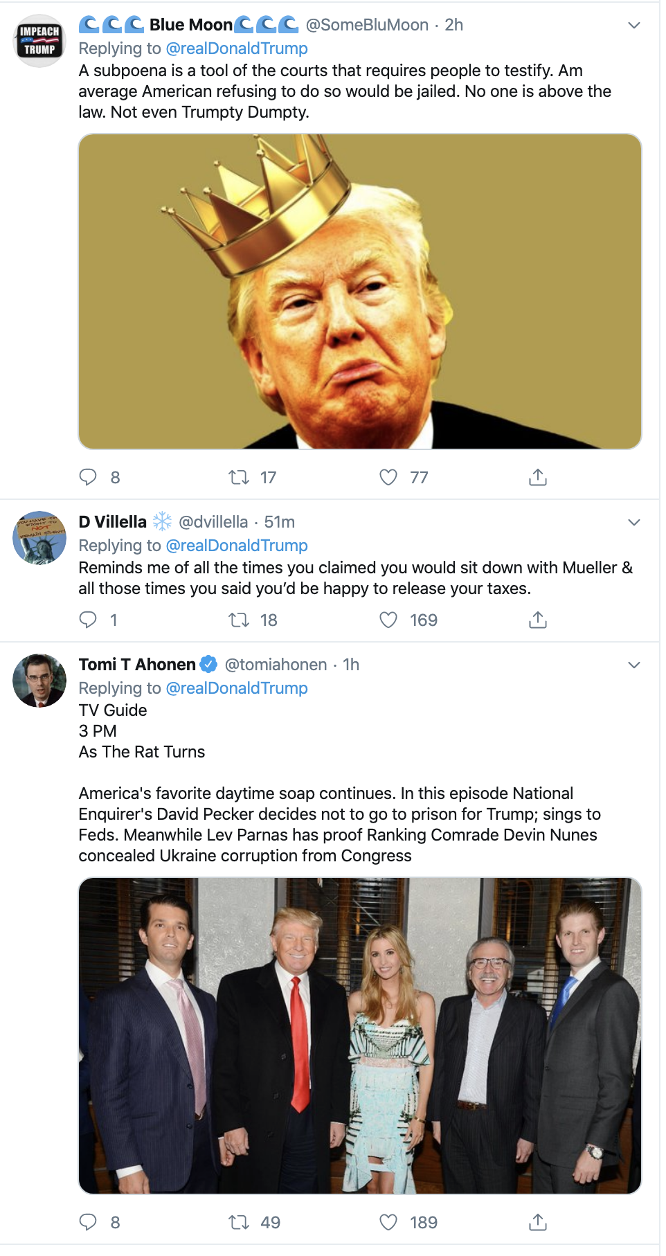 Screen-Shot-2019-11-26-at-12.09.21-PM Trump Humorously Tries To Make Himself A Martyr On Twitter Crime Featured History Impeachment Top Stories