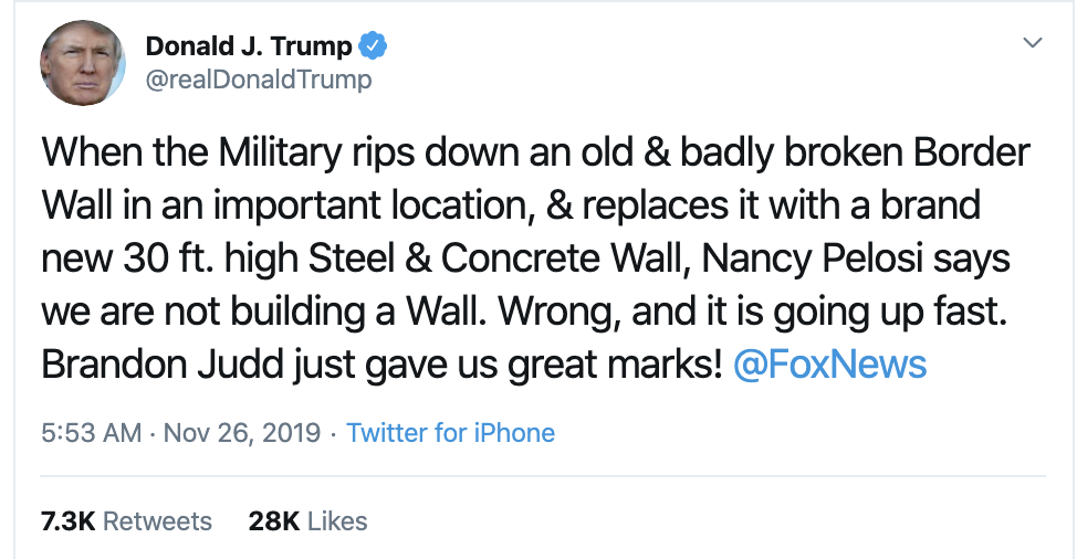 Screen-Shot-2019-11-26-at-7.38.41-AM Trump Delivers Asinine Tuesday AM Twitter Attacks Corruption Featured Impeachment Military National Security Top Stories