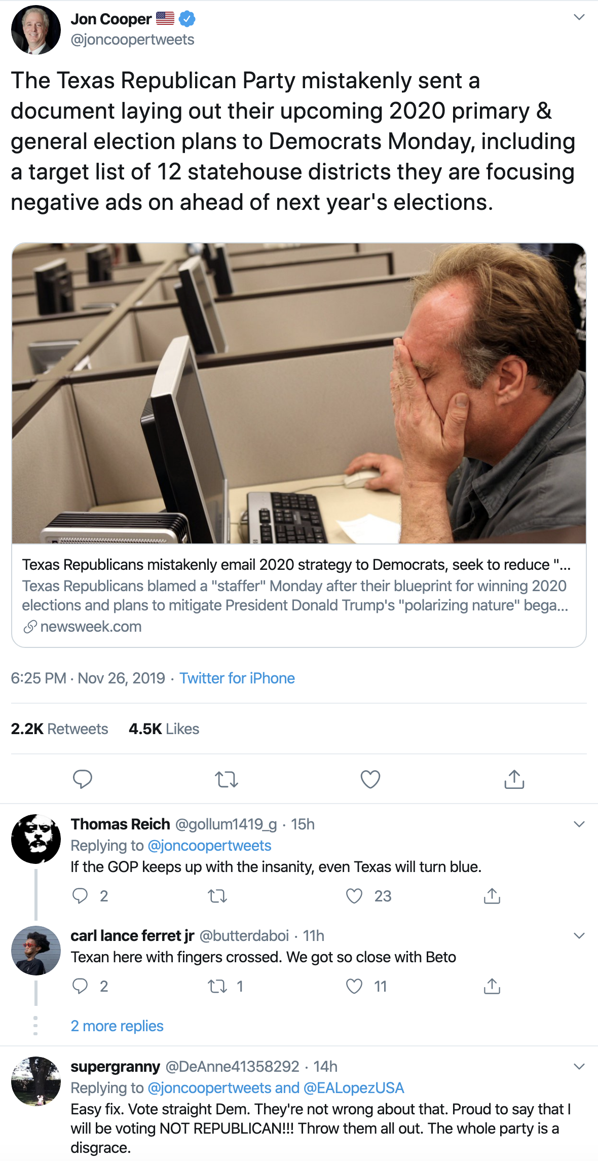Screen-Shot-2019-11-27-at-10.41.11-AM GOP Accidentally Sends Democrats Their 2020 Strategy Election 2018 Election 2020 Featured Politics Top Stories