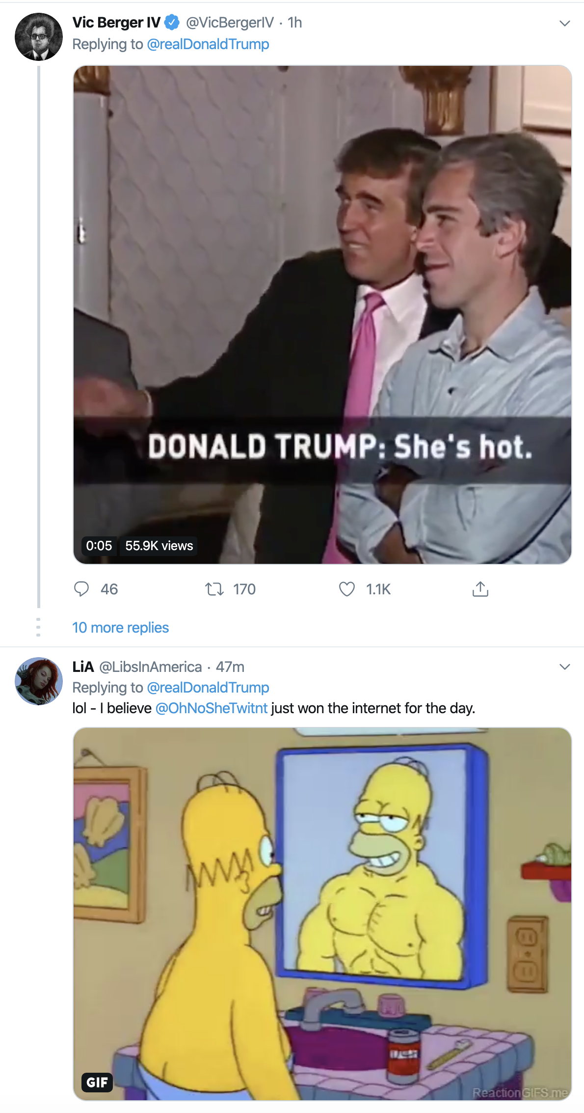 Screen-Shot-2019-11-27-at-11.24.22-AM Donald Goes Goofy On Twitter After Weird Rally Remarks Featured Healthcare Mental Illness Social Media Top Stories