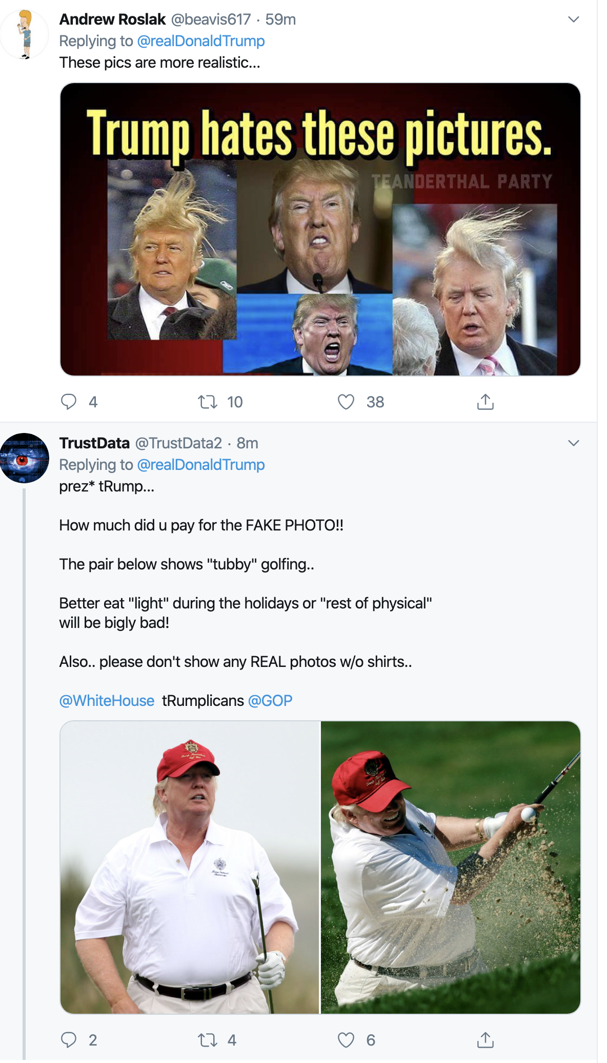 Screen-Shot-2019-11-27-at-12.09.00-PM Donald Goes Goofy On Twitter After Weird Rally Remarks Featured Healthcare Mental Illness Social Media Top Stories