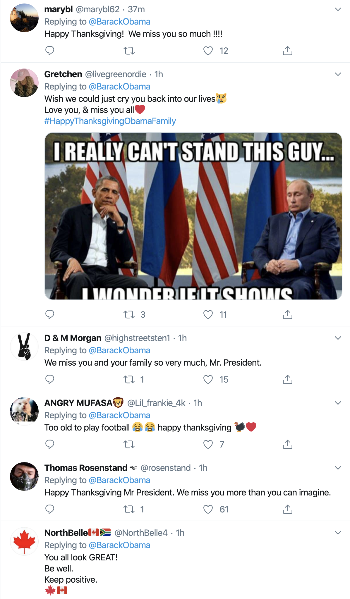 Screen-Shot-2019-11-28-at-7.36.30-AM Barack Obama Tweets Thanksgiving Message That Will Make You Swoon Celebrities Domestic Policy Featured History Humanitarian Poverty Top Stories