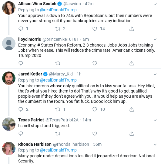 Screenshot-2019-11-03-at-1.24.24-PM Trump Finishes Sunday Shows, Tweets about Getting Booed, Then Erupts Donald Trump Politics Social Media Top Stories