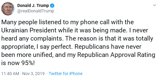 Screenshot-2019-11-03-at-1.24.59-PM Trump Finishes Sunday Shows, Tweets about Getting Booed, Then Erupts Donald Trump Politics Social Media Top Stories