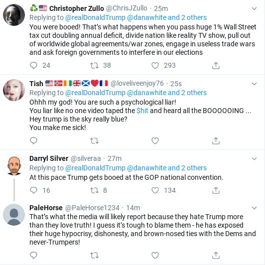 Screenshot-2019-11-03-at-10.28.48-AM Trump Tweets Embarrassing Response To Boos At Madison Square Garden Donald Trump Politics Social Media Top Stories