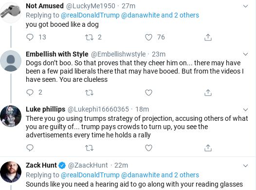 Screenshot-2019-11-03-at-10.29.04-AM Trump Tweets Embarrassing Response To Boos At Madison Square Garden Donald Trump Politics Social Media Top Stories