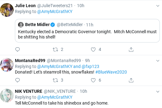 Screenshot-2019-11-06-at-9.54.25-AM McConnell's 2020 Opponent Trolls Him Hard After GOP Election Loss Donald Trump Election 2020 Politics Top Stories