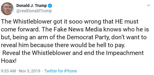 Screenshot-2019-11-08-at-8.49.02-AM Trump Hit With Cease And Desist From Whistleblower Lawyer Corruption Donald Trump Politics Top Stories