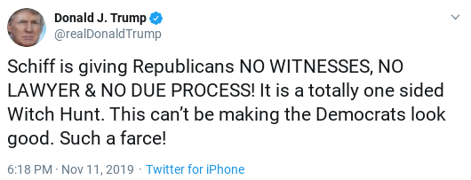 Screenshot-2019-11-12-at-10.26.13-AM Trump Claims Credit For Decades Old Laws - Gets Mocked To Death Donald Trump Impeachment Investigation Politics Social Media Top Stories