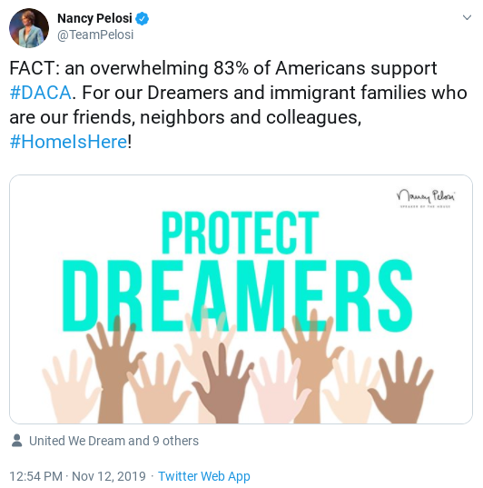 Screenshot-2019-11-12-at-4.19.24-PM Protesters Hit Supreme Court To Rally Against Trump DACA Attack Activism Donald Trump Immigration Politics Top Stories