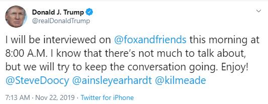 fox1 Trump Pulls Desperate Twitter Stunt Over Impeachment Revelations Donald Trump Politics Social Media Top Stories