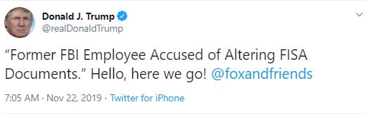 fox2 Trump Pulls Desperate Twitter Stunt Over Impeachment Revelations Donald Trump Politics Social Media Top Stories