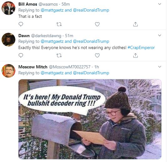 g11 Gaetz Escalates Bizarre Twitter Meltdown Over Gov's Senate Pick Donald Trump Politics Social Media Top Stories