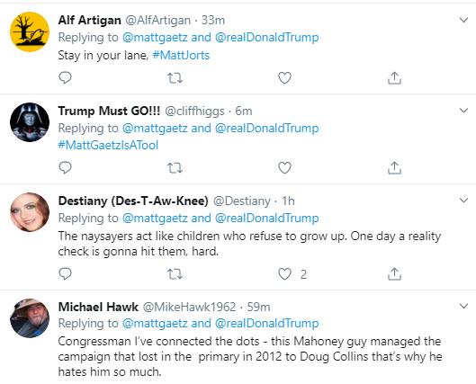 g15 Gaetz Escalates Bizarre Twitter Meltdown Over Gov's Senate Pick Donald Trump Politics Social Media Top Stories