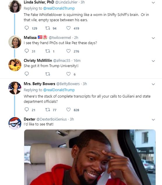 t3-Copy Trump Tweets Belligerent New Attack On The Whistleblower Donald Trump Politics Social Media Top Stories