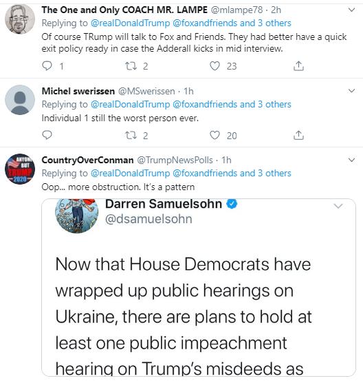 tr12 Trump Pulls Desperate Twitter Stunt Over Impeachment Revelations Donald Trump Politics Social Media Top Stories