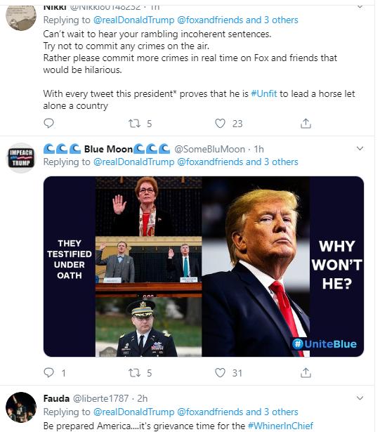 tr9 Trump Pulls Desperate Twitter Stunt Over Impeachment Revelations Donald Trump Politics Social Media Top Stories