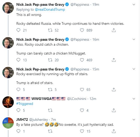 trump18 Trump Tweets Bizarre Pre-Thanksgiving Photoshopped Image Of Himself Donald Trump Politics Social Media Top Stories
