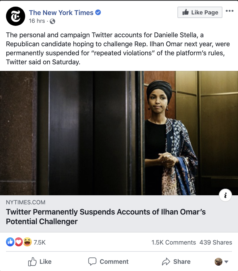 Screen-Shot-2019-12-01-at-8.28.08-AM Ilhan Omar's 2020 Opponent Suffers Humiliating Public Meltdown Featured Hate Speech Islamaphobia Top Stories White Supremacy