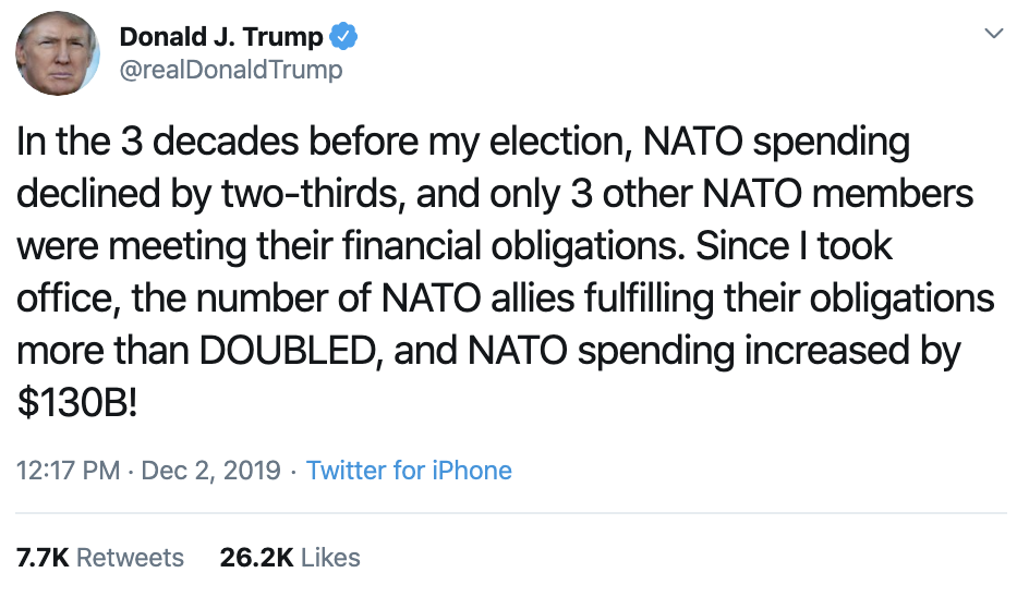 Screen-Shot-2019-12-02-at-2.31.36-PM Trump Unleashes 14-Tweet Freakout Like A Guy With Poor Work Ethic Corruption Featured Foreign Policy Impeachment Top Stories