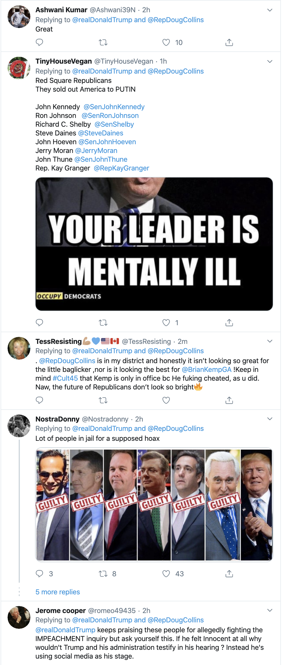 Screen-Shot-2019-12-02-at-2.33.10-PM Trump Unleashes 14-Tweet Freakout Like A Guy With Poor Work Ethic Corruption Featured Foreign Policy Impeachment Top Stories