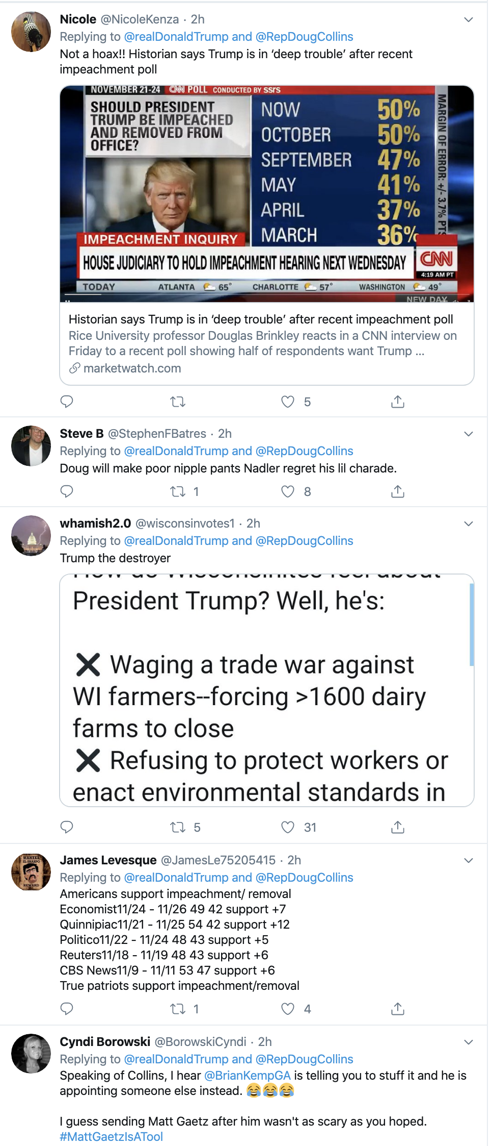 Screen-Shot-2019-12-02-at-2.33.27-PM Trump Unleashes 14-Tweet Freakout Like A Guy With Poor Work Ethic Corruption Featured Foreign Policy Impeachment Top Stories