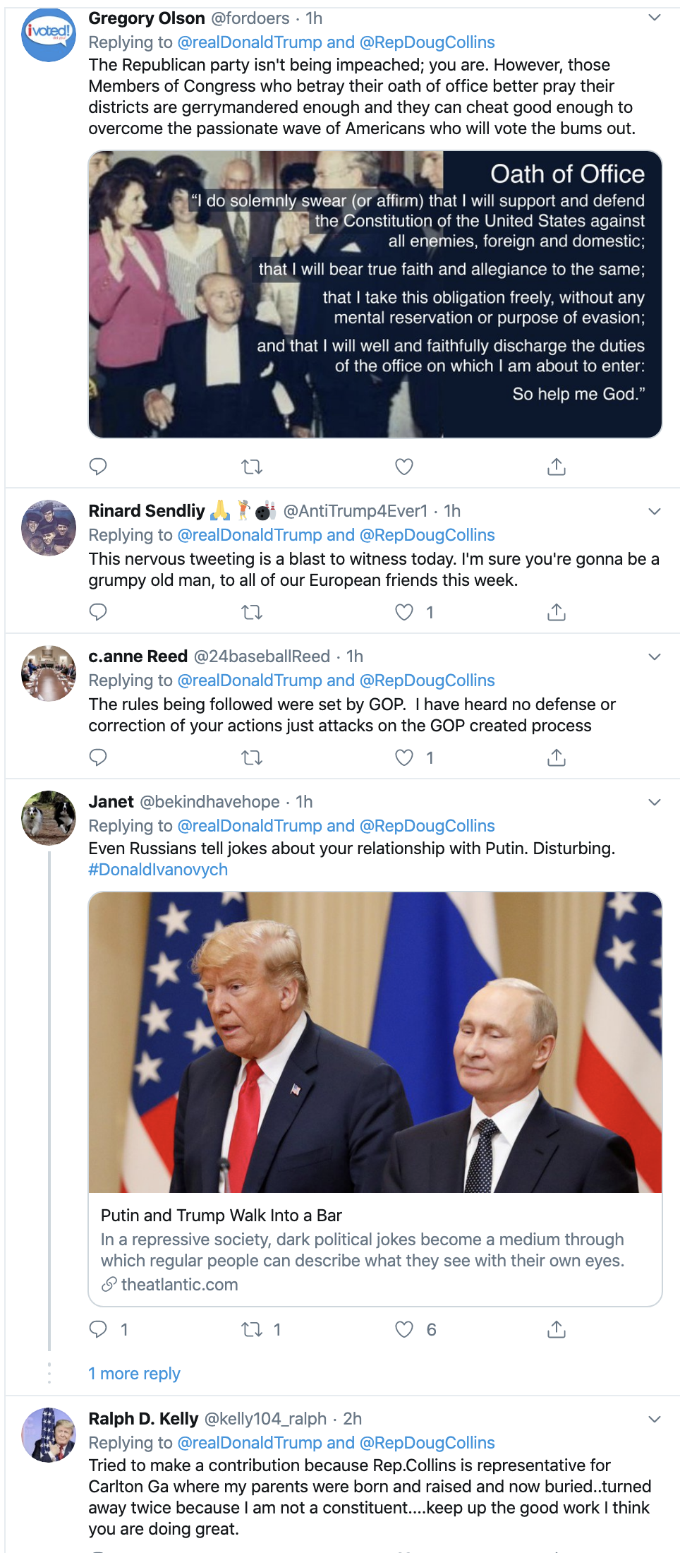 Screen-Shot-2019-12-02-at-2.33.55-PM Trump Unleashes 14-Tweet Freakout Like A Guy With Poor Work Ethic Corruption Featured Foreign Policy Impeachment Top Stories