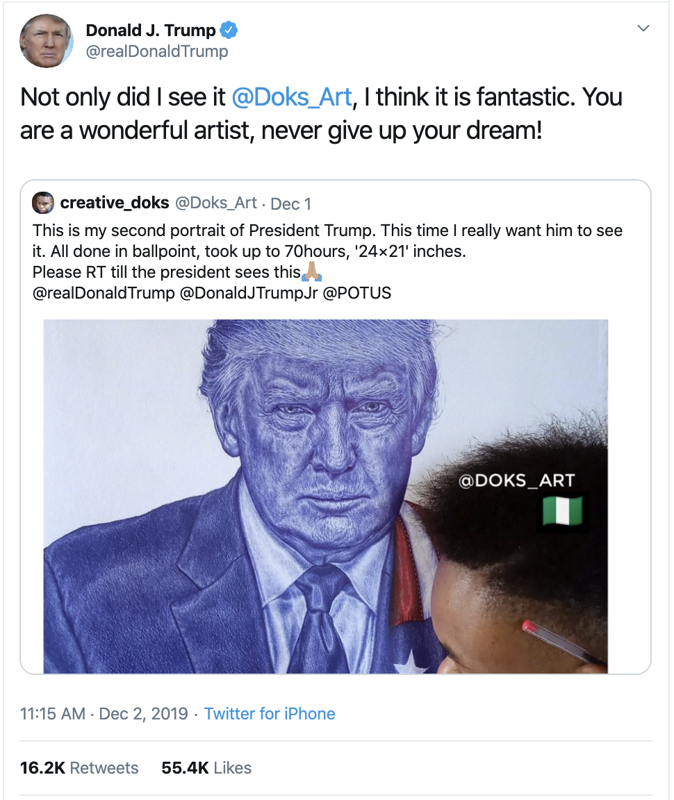 Screen-Shot-2019-12-02-at-2.37.31-PM Trump Unleashes 14-Tweet Freakout Like A Guy With Poor Work Ethic Corruption Featured Foreign Policy Impeachment Top Stories