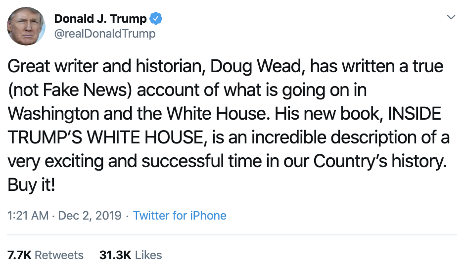 Screen-Shot-2019-12-02-at-7.17.19-AM Trump Flies Into Chaotic AM Post-Thanksgiving Break Twitter Fiasco Economy Featured Impeachment Investigation Top Stories