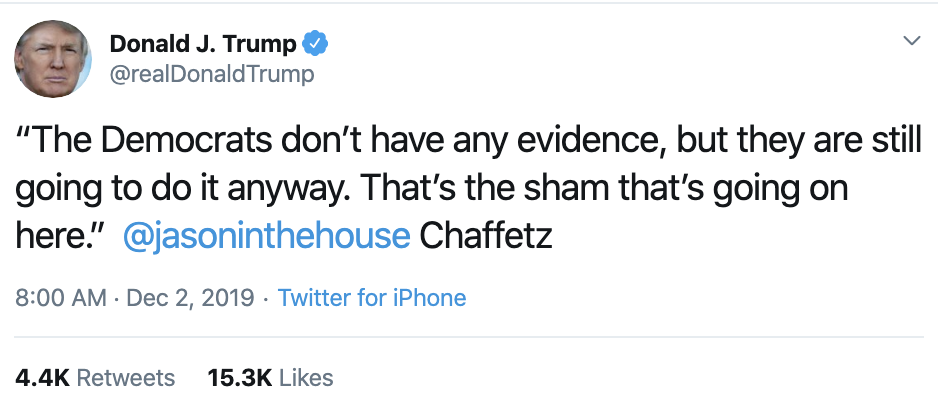 Screen-Shot-2019-12-02-at-9.05.10-AM Trump Continues Monday Morning Absurdities On Twitter Corruption Featured History Impeachment Top Stories