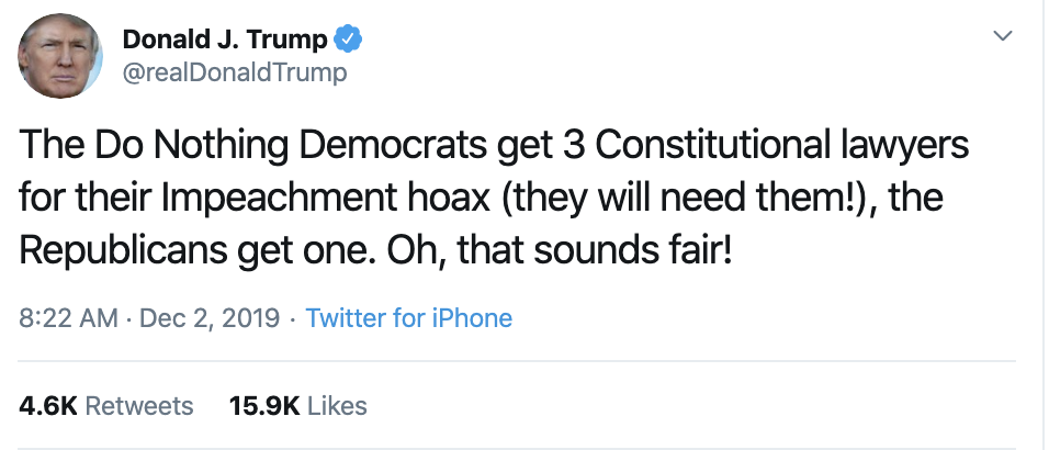 Screen-Shot-2019-12-02-at-9.08.41-AM Trump Continues Monday Morning Absurdities On Twitter Corruption Featured History Impeachment Top Stories