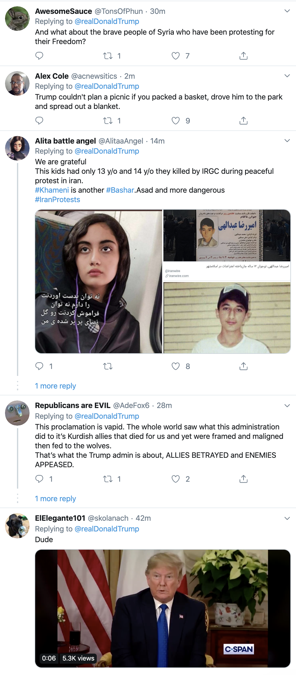 Screen-Shot-2019-12-03-at-10.19.30-AM Trump Taunts Iran On Twitter During Tuesday Boredom Fail Corruption Featured Foreign Policy Impeachment Top Stories