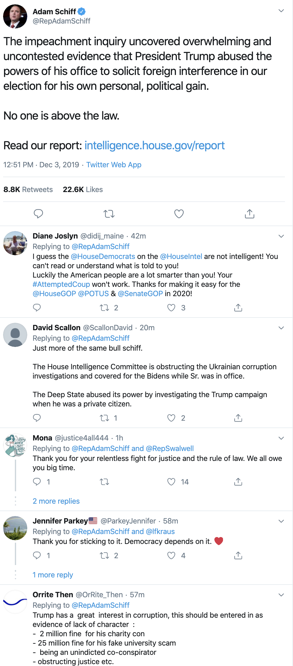 Screen-Shot-2019-12-03-at-2.16.01-PM Schiff Uncovers Evidence Of Trump's Scheme To Cheat In 2020 Election Featured Impeachment Investigation National Security Top Stories