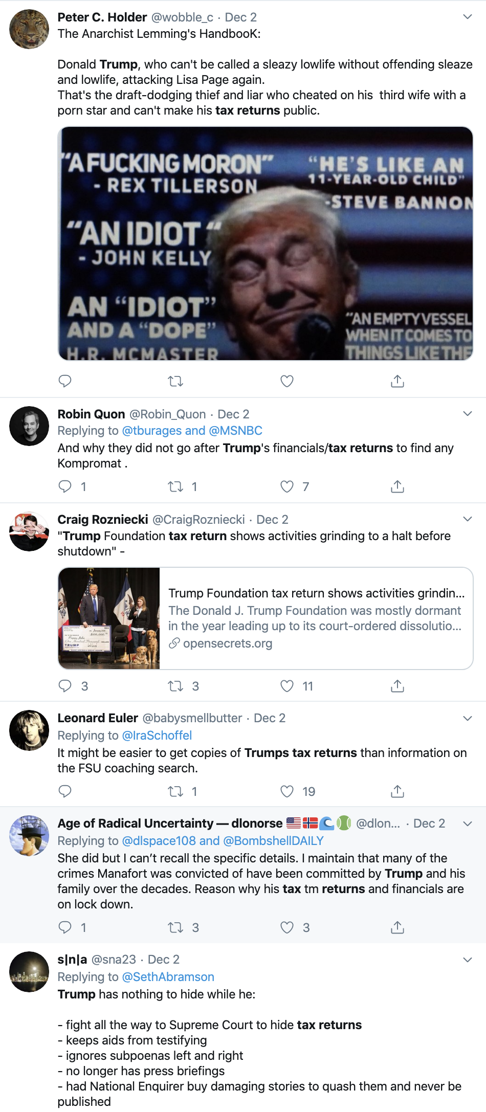 Screen-Shot-2019-12-05-at-1.43.45-PM Trump's Financial Records Case Hits The Supreme Court Corruption Crime Featured Supreme Court Top Stories