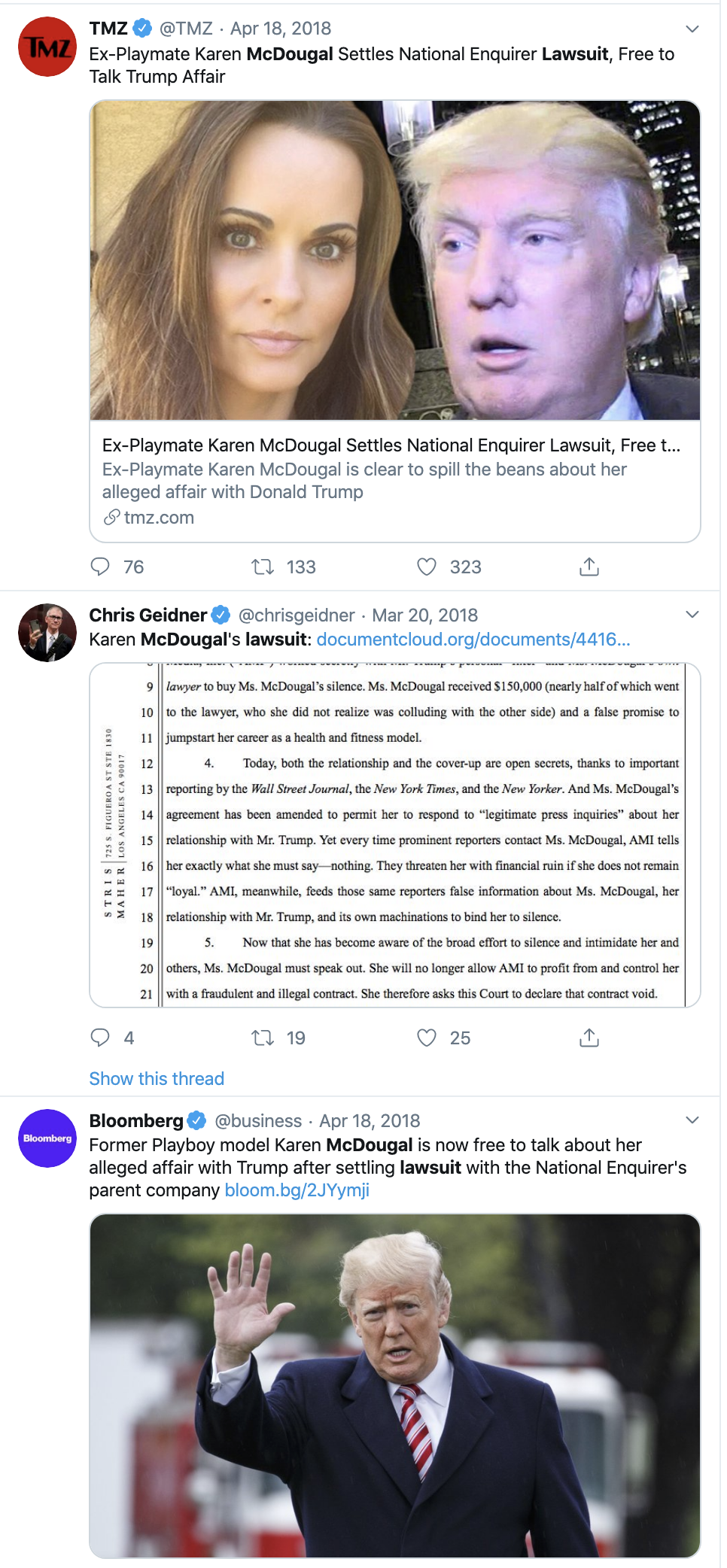 Screen-Shot-2019-12-05-at-11.53.07-AM Trump Accuser Karen McDougal Takes Tucker Carlson To Court Corruption Featured Feminism Me Too Top Stories