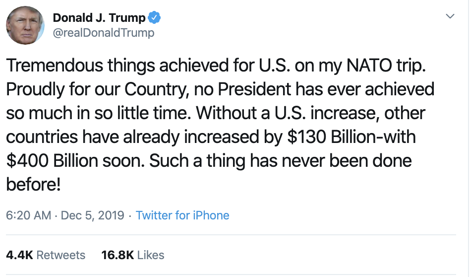 Screen-Shot-2019-12-05-at-7.15.34-AM Trump Taunts Dems On Twitter Over Impeachment: 'Do It Now!' Corruption Featured Impeachment Investigation Top Stories