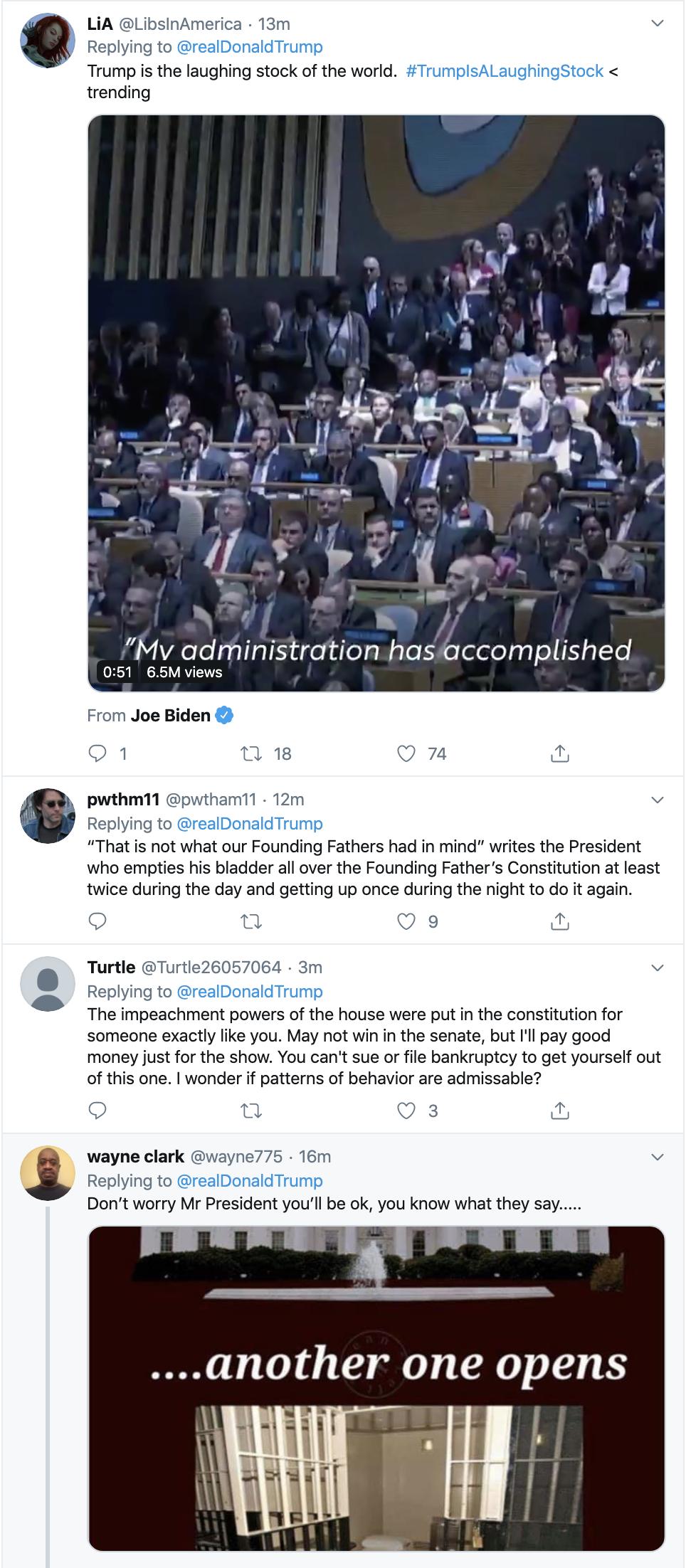 Screen-Shot-2019-12-05-at-9.37.36-AM Trump Attacks Pelosi After Impeachment Articles Anouncement Donald Trump Featured Impeachment Investigation Top Stories Uncategorized
