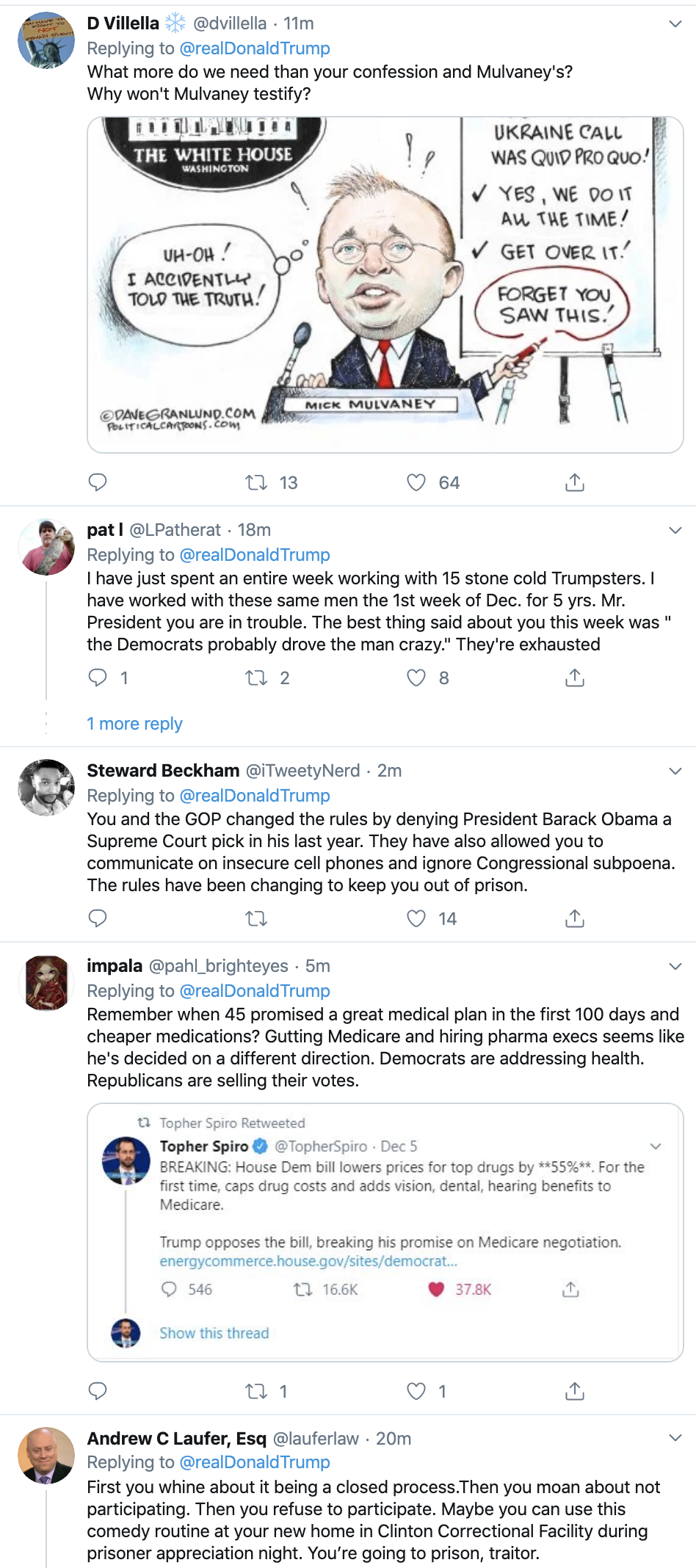 Screen-Shot-2019-12-08-at-10.12.11-AM Trump Has Impeachment Induced Sunday Twitter Freakout Election 2020 Featured Foreign Policy Impeachment Top Stories