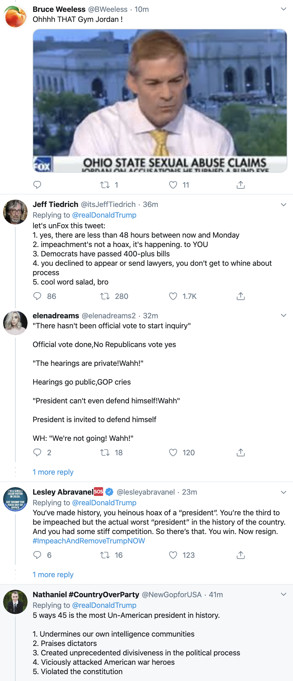 Screen-Shot-2019-12-08-at-10.12.33-AM Trump Has Impeachment Induced Sunday Twitter Freakout Election 2020 Featured Foreign Policy Impeachment Top Stories