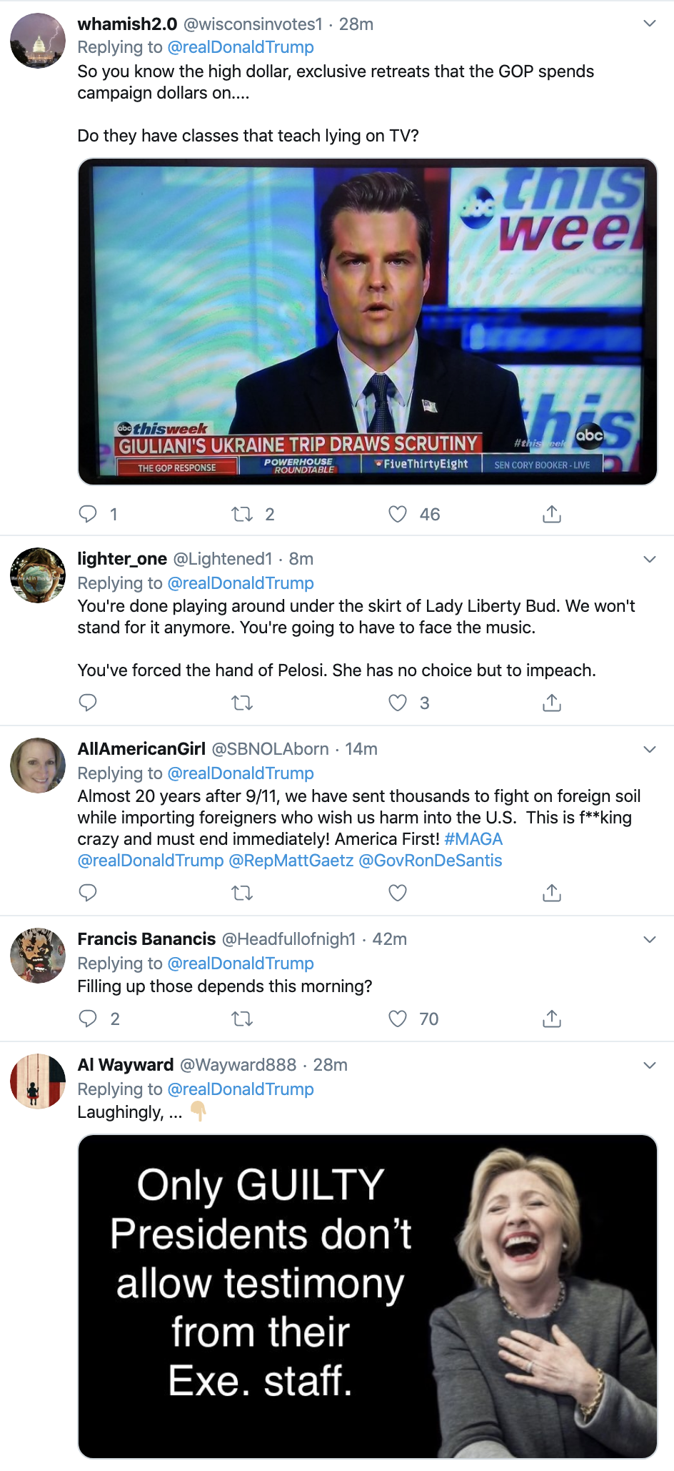 Screen-Shot-2019-12-08-at-10.12.51-AM Trump Has Impeachment Induced Sunday Twitter Freakout Election 2020 Featured Foreign Policy Impeachment Top Stories