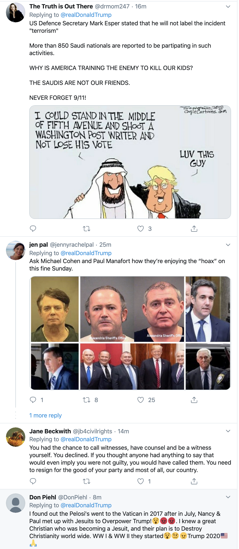 Screen-Shot-2019-12-08-at-10.13.07-AM Trump Has Impeachment Induced Sunday Twitter Freakout Election 2020 Featured Foreign Policy Impeachment Top Stories