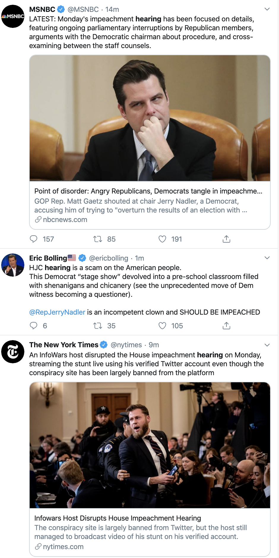 Screen-Shot-2019-12-09-at-1.09.29-PM Republicans Go Full Swamp-Creature During Hearing Circus Act Corruption Featured Impeachment Investigation Top Stories