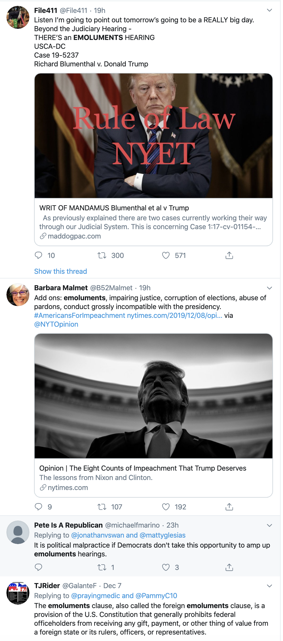 Screen-Shot-2019-12-09-at-2.21.40-PM DOJ Makes Case For Trump Exception From Constitution To Accept Bribes Corruption Crime Featured Top Stories