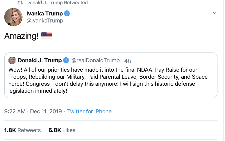 Screen-Shot-2019-12-11-at-1.35.10-PM Trump Snaps During Senate Hearing & Has Multi-Tweet Meltdown Featured Impeachment Investigation Russia Top Stories