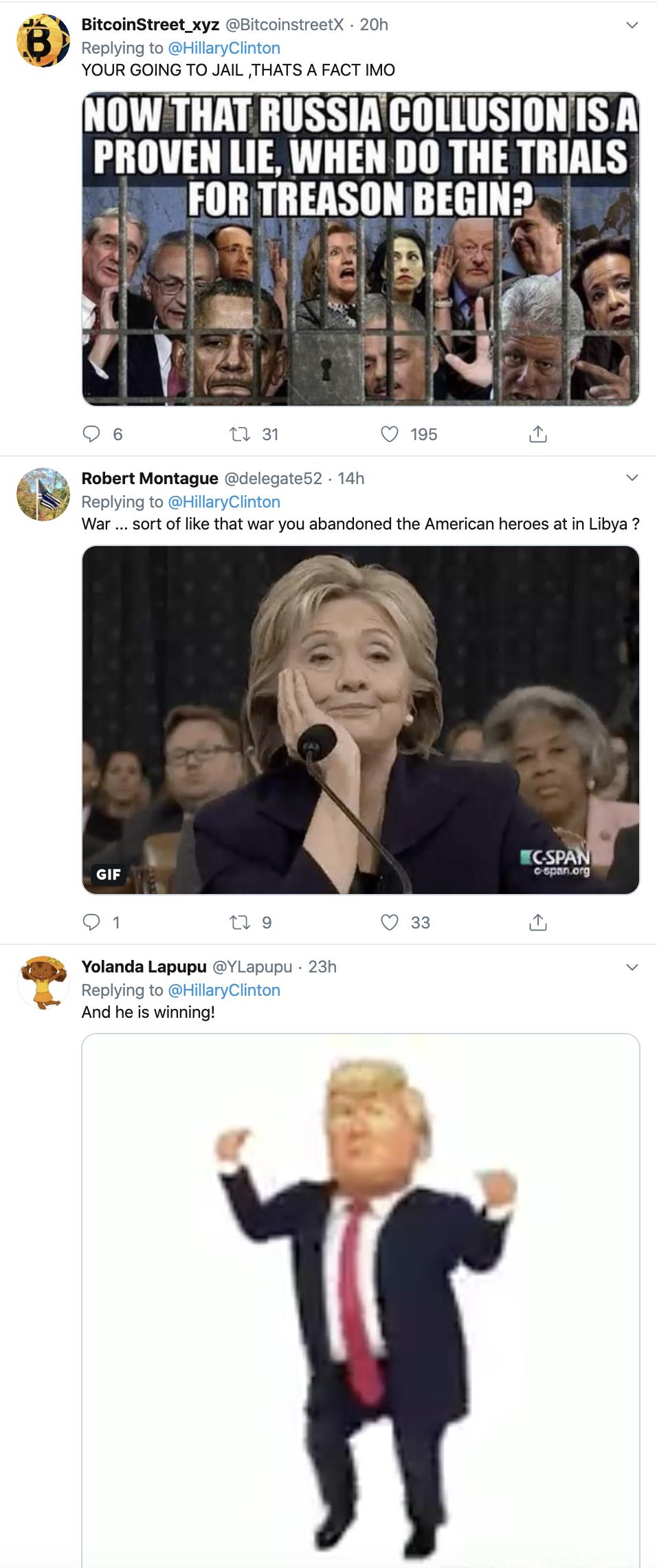 Screen-Shot-2019-12-11-at-9.13.03-AM Clinton Embarrasses Trump With Impeachment Tweet Trolling Featured Hillary Clinton Impeachment Politics