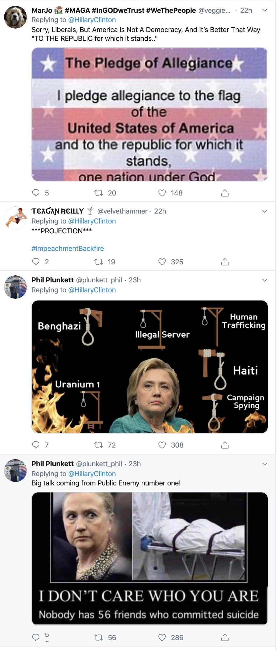 Screen-Shot-2019-12-11-at-9.13.35-AM Clinton Embarrasses Trump With Impeachment Tweet Trolling Featured Hillary Clinton Impeachment Politics