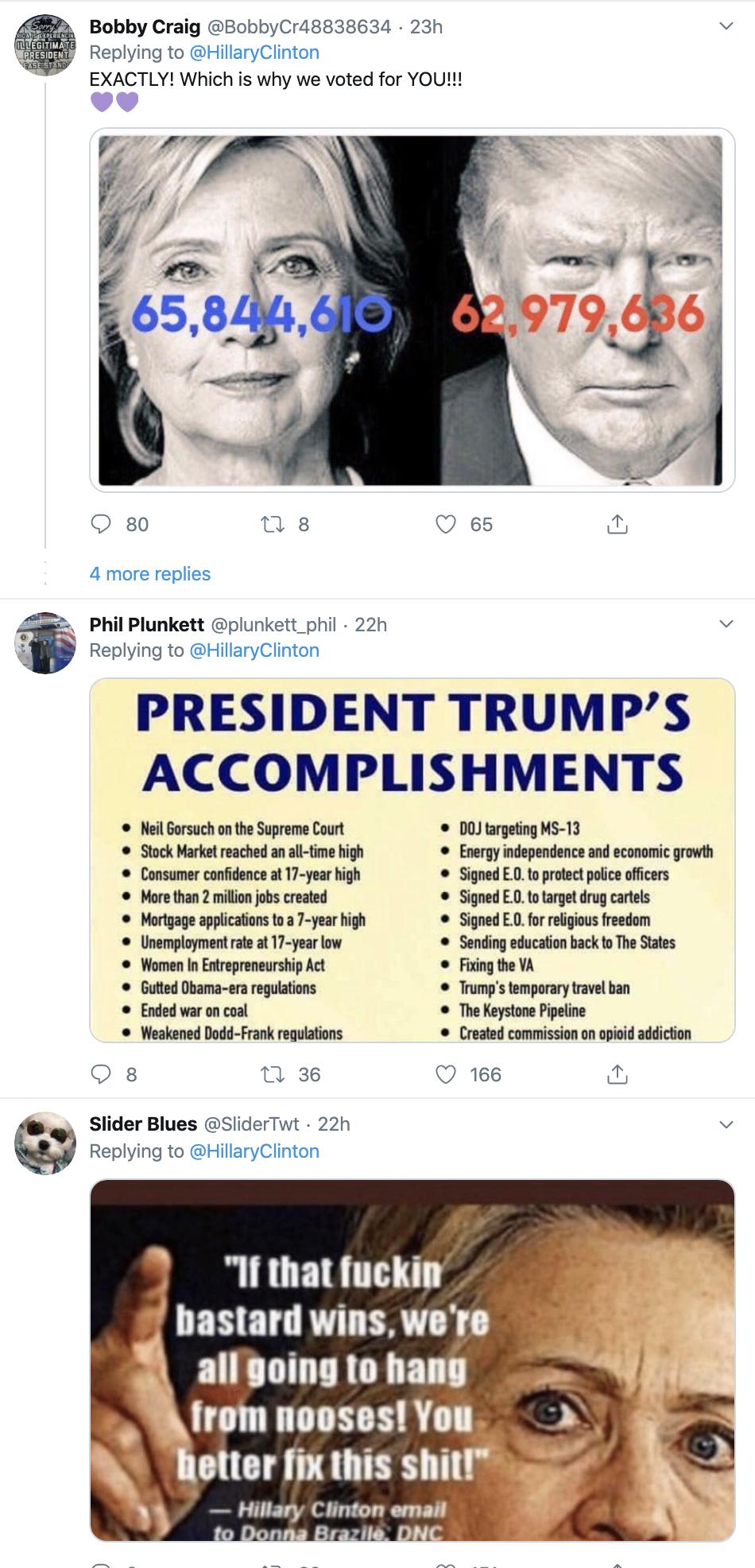 Screen-Shot-2019-12-11-at-9.13.49-AM Clinton Embarrasses Trump With Impeachment Tweet Trolling Featured Hillary Clinton Impeachment Politics