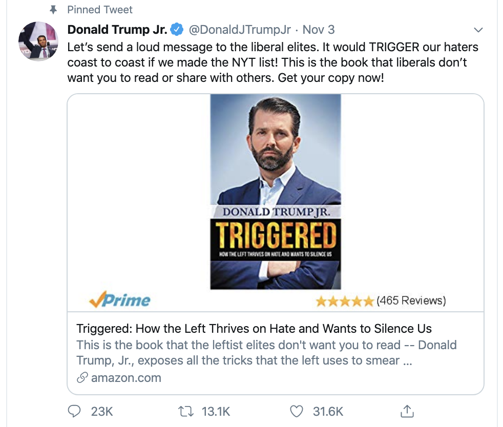 Screen-Shot-2019-12-12-at-11.01.22-AM Donald Jr. Live Tweets His Idiocy During Impeachment Hearing Uncategorized